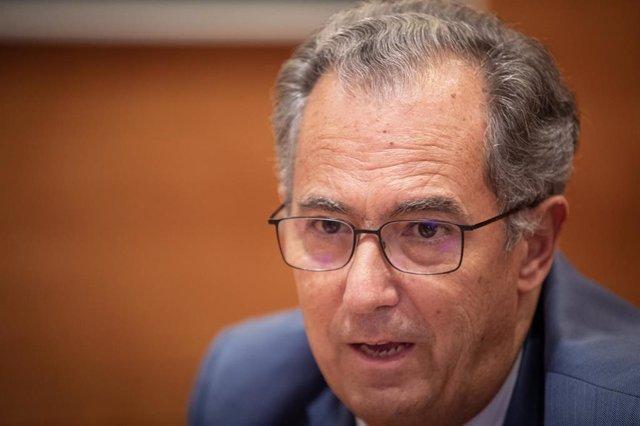 El consejero de Educación y Juventud de Madrid, Enrique Ossorio