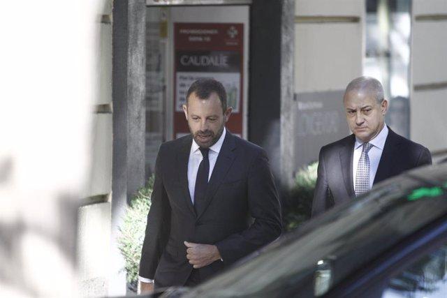 """Fútbol.- Sandro Rosell: """"La magistrada Lamela prevaricó y tuvo una inductora, la"""