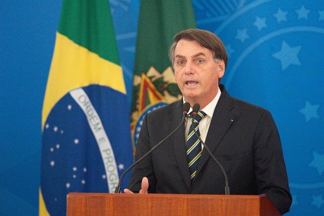 Coronavirus.- Bolsonaro niega que la manifestación de Brasilia tuviera un caráct