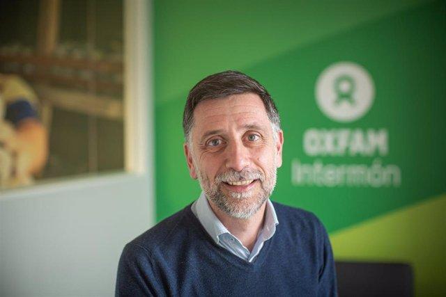 El nou director general d'Oxfram Intermón, Franco Cortada