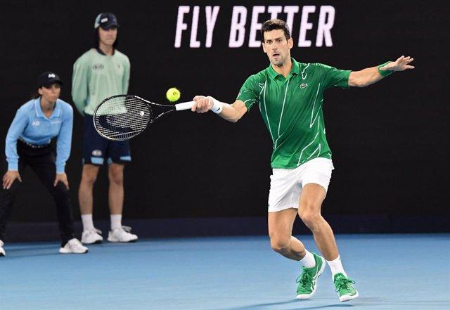 """Tenis.- Djokovic: """"Me opongo a la vacunación y no quisiera que alguien me obliga"""