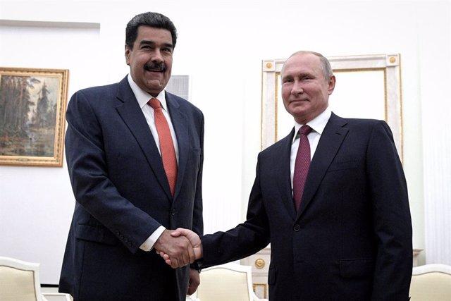 Coronavirus.- Putin garantiza a Maduro nuevos envíos de material ruso a Venezuel