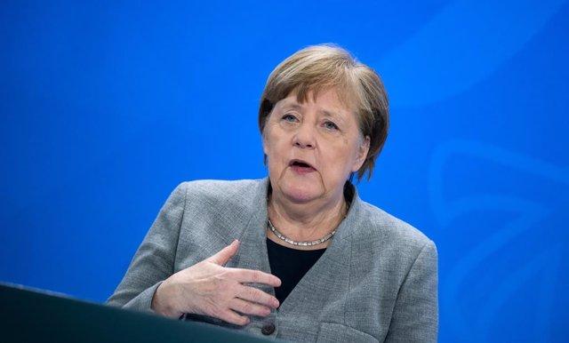 Coronavirus.- Merkel anuncia una red de equipos de pruebas móviles para reconoce