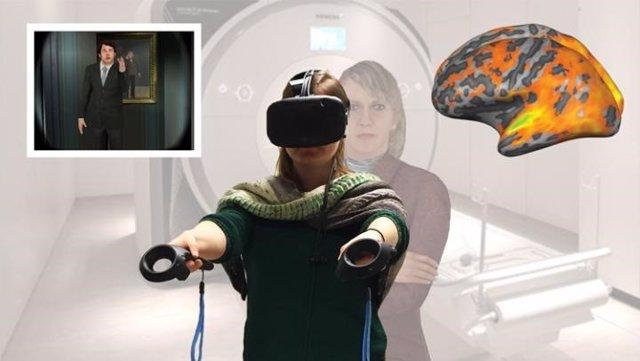 El entrenamiento de realidad virtual en primera persona activa las redes cerebrales para ayudarte a identificarte más con los demás.