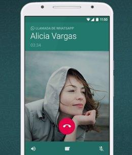 WhatsApp trabaja en las llamadas grupales con 8 participantes