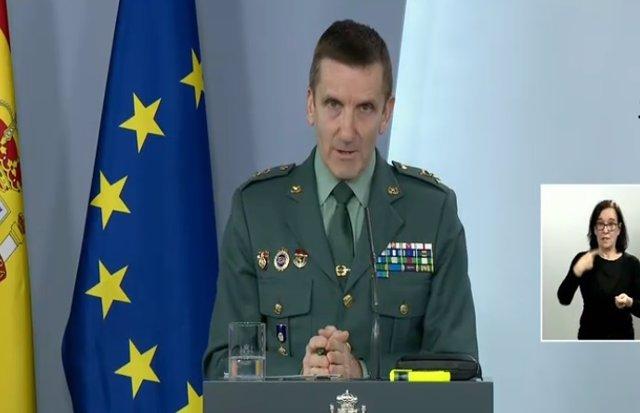 Comparecencia del jefe del Estado Mayor de la Guardia Civil, el general José Santiago