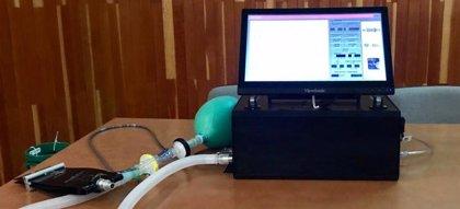 La Universidad de Huelva hace un prototipo de respirador para su uso en neumología y la Junta agradece su aportación