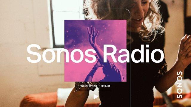 Sonos lanza un servicio de 'streaming' de radio gratuito para sus dispositivos c