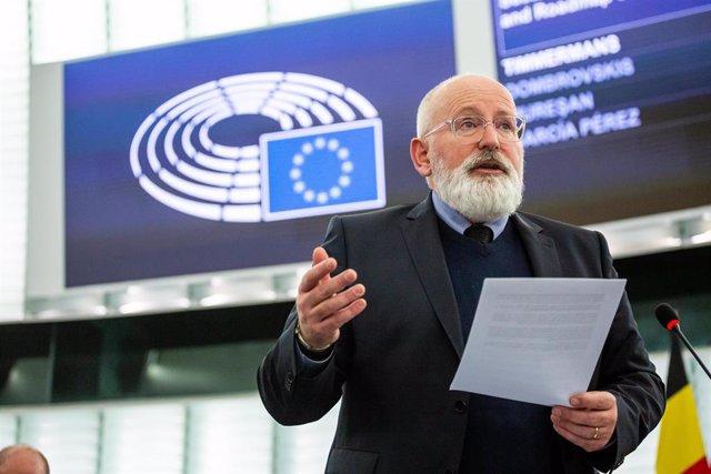 """Economía.- Bruselas apuesta por la recuperación 'verde': """"Restaurar la vieja eco"""