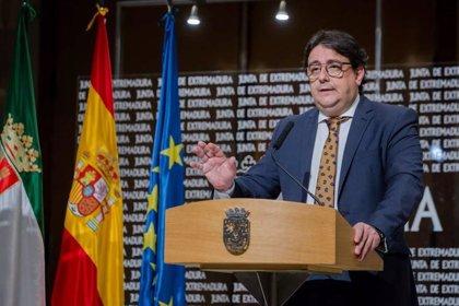 """Vergeles señala que Extremadura está """"en la fase de descenso del brote"""" aunque llama a la cautela"""