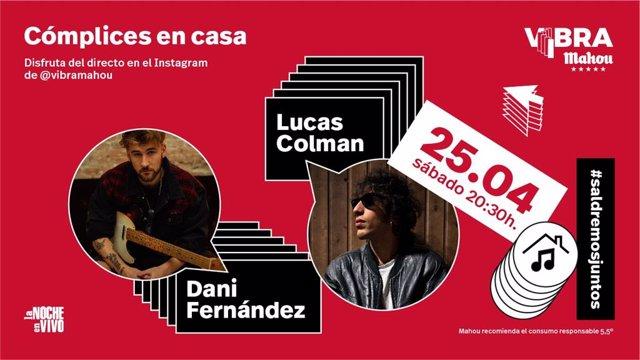 Dani Fernández y Lucas Colman