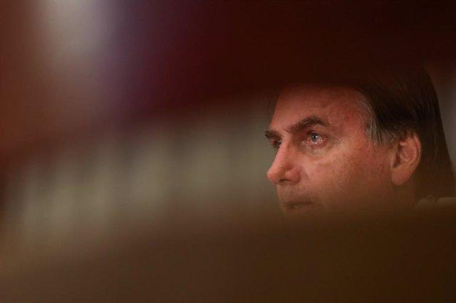Coronavirus.- Bolsonaro defiende la democracia tras acudir a una protesta a favo