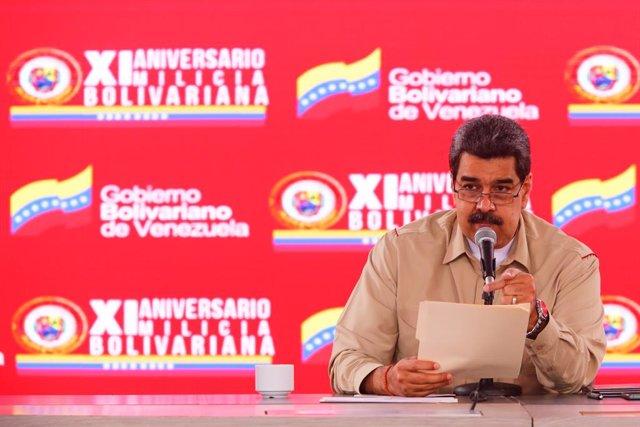 """Venezuela.- Maduro dice que """"a Venezuela no la detiene el petróleo ni a 10 ni a"""