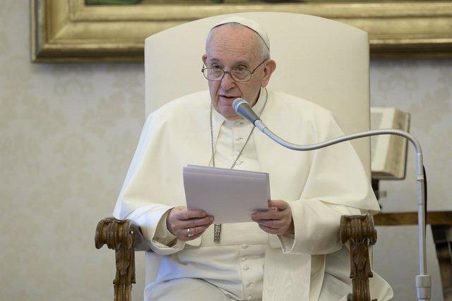 """Coronavirus.- El Papa reivindica para Europa la """"unidad fraterna"""" que soñaron lo"""