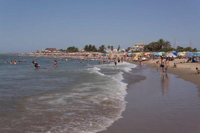 Playa de Ayamonte.