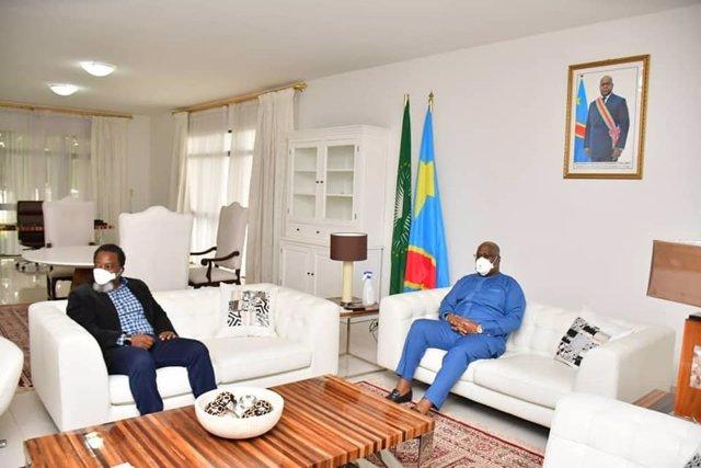 El expresidente Joseph Kabila y el presidente, Felix Tshisekedi