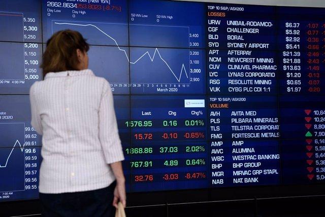 """Coronavirus.- Los centros financieros mundiales apuestan por """"reconsiderar"""" los"""