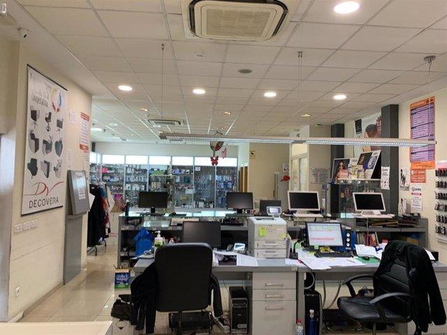 Oficinas y almacen de la Cooperativa de Peluquería y Estética de la CV