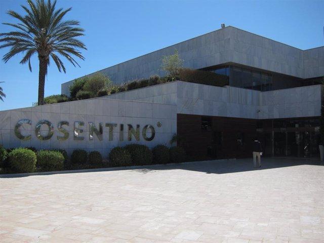 Sede de Cosentino en Cantoria (Almería)
