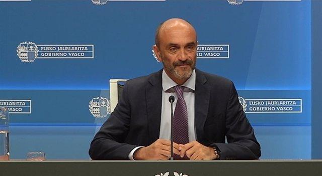 El director de Planificación, Ordenación y Evaluación Sanitarias del Gobierno Vasco, Miguel Sánchez