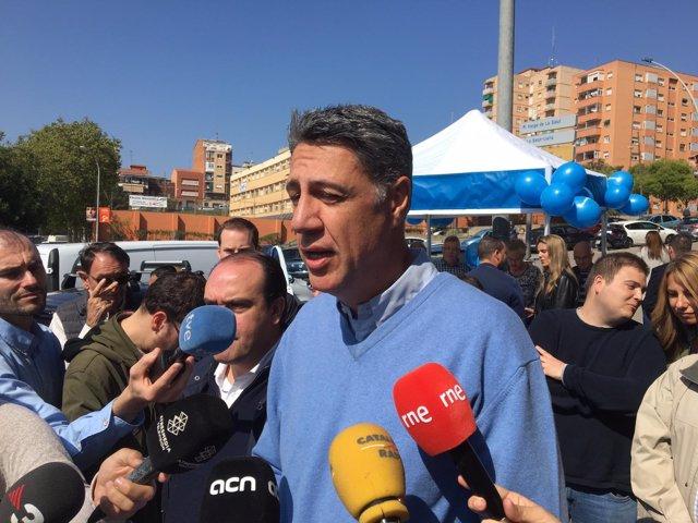 El candidat del PP a l'Alcaldia de Badalona, Xavier García Albiol.