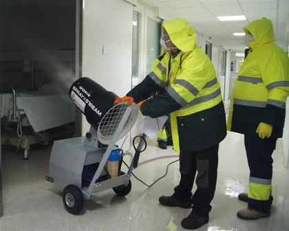 El Hospital Ruber Internacional refuerza la limpieza y la desinfección de sus instalaciones