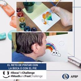COMUNICADO: #BocaPieChallenge: El reto de pintar con la boca o con el pie