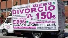 COMUNICADO: Abogados Cebrián con sus 'Divorcionetas' ofrecen divorcios express p