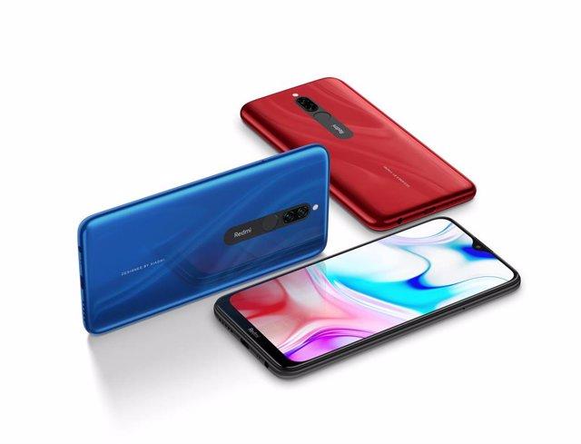El teléfono Redmi 8 de Xiaomi