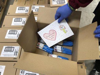 Coronavirus.- BIC dona 120.000 bolígrafos y 120.000 maquinillas de afeitar a 80 hospitales de España y Portugal