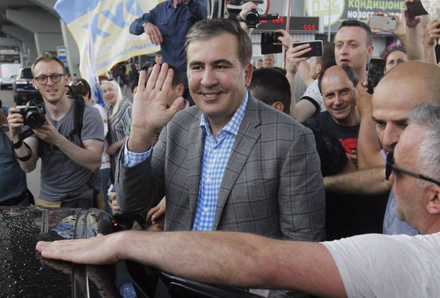 Ucrania.- El exlíder georgiano Saakashvili asegura que Zelenski le ha propuesto