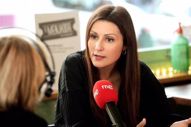La líder de Cs en el Parlament de Catalunya, Lorena Roldán, en una entrevista en Ràdio 4
