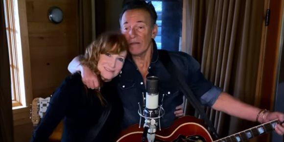 7. VÍDEO: Bruce Springsteen y Patti Scialfa en #Jersey4Jersey