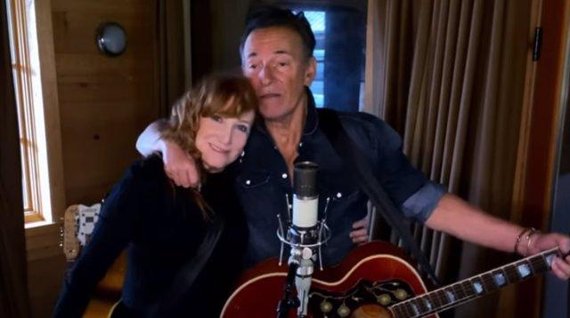 Patti Scialfa y Bruce Springsteen