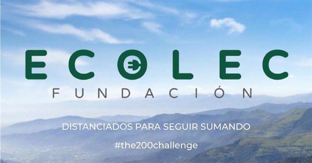 Fundación Ecolec se suma a #The200Challenge durante la crisis del coronavirus.