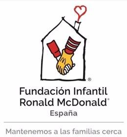 Logo Fundación Infantil Ronald McDonald España