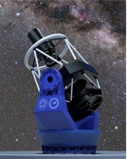 China levanta el telescopio de campo ancho más poderoso del hemisferio norte
