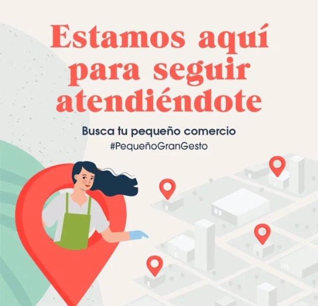 Icono de la página web de Confercomer que permite conocer cuáles de sus locales están abiertos, cerrados o venden bajo pedido