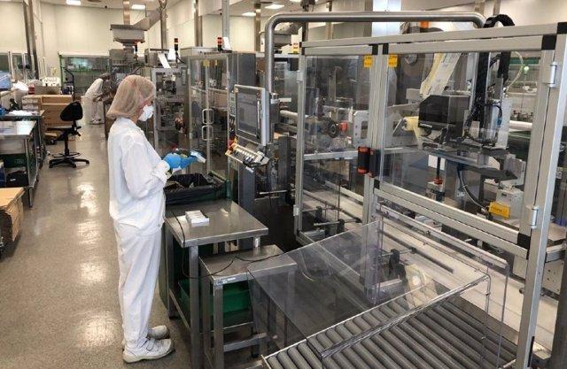 Laboratorio. Fábrica de medicamentos