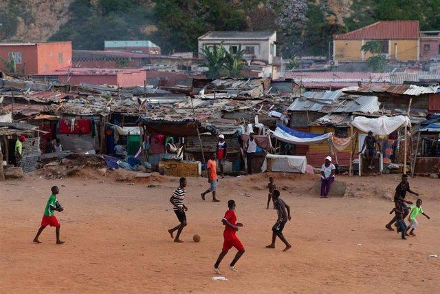 Poblado de Povoado en Luanda, Angola