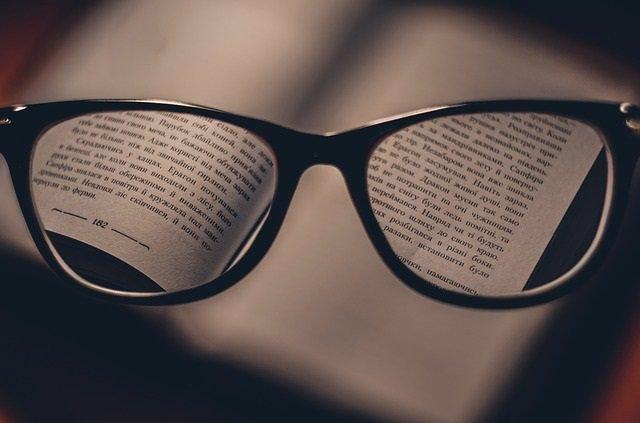 Gafas, leer
