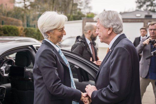Coronavirus.- Lagarde (BCE) advierte a los líderes de que el PIB de la eurozona