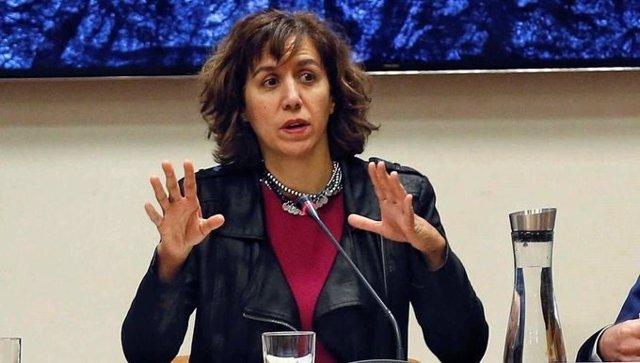 Fútbol.- Irene Lozano insiste en que Sanidad tendrá que decidir sobre los test e