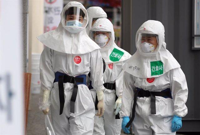 Coronavirus.- Corea del Sur no registra ninguna muerte por coronavirus por prime