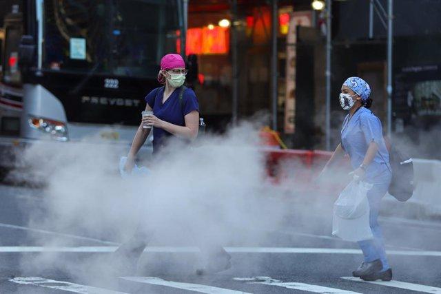 Coronavirus outbreak in New York
