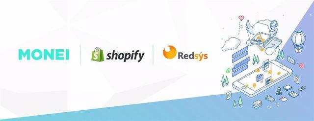 COMUNICADO: La pasarela de pagos MONEI conecta Shopify con todos los bancos espa
