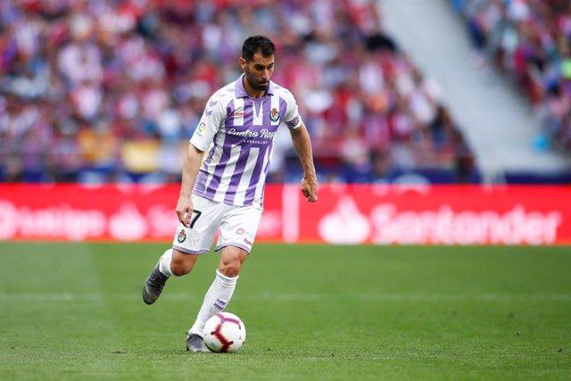 """Fútbol.- Javi Moyano (Valladolid): """"Moralmente los futbolistas nos negamos a pon"""