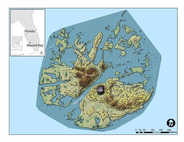 Un fuerte español de 1566 hecho con moluscos, descubierto en Florida