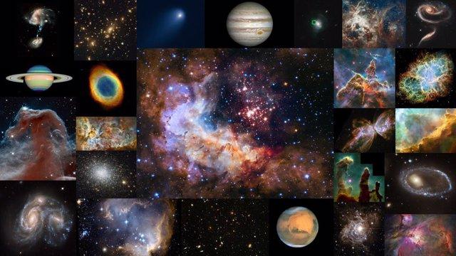 El telescopio Hubble cumple 30 años en órbita