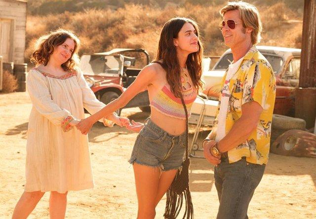 Brad Pitt en Érase una vez en Hollywood